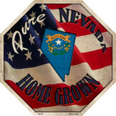 Nevada Home Grown Wholesale Metal Novelty Stop Sign