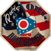 Ohio Home Grown Wholesale Metal Novelty Stop Sign