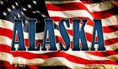 Alaska Wholesale Novelty Metal Magnet