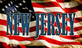 New Jersey Wholesale Novelty Metal Magnet M-3641