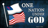 One Nation Under God Wholesale Novelty Metal Magnet