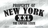 Property Of New York Wholesale Novelty Metal Magnet