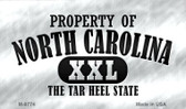 Property Of North Carolina Wholesale Novelty Metal Magnet