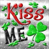 Kiss Me Wholesale Novelty Metal Square Sign