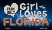 This Girl Loves Her Florida Wholesale Novelty Metal Magnet