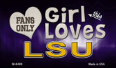 This Girl Loves Her LSU Wholesale Novelty Metal Magnet