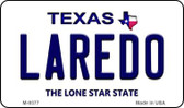 Laredo Texas Background Wholesale Novelty Metal Magnet
