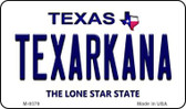 Texarkana Texas Background Wholesale Novelty Metal Magnet