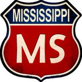 Mississippi Highway Shield Wholesale Novelty Metal Magnet