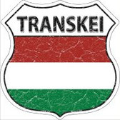 Transkei Flag Highway Shield Novelty Metal Magnet