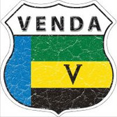 Venda Flag Highway Shield Novelty Metal Magnet