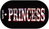 "American Princess Dog Tag Kit 2"" Wholesale Metal Novelty Necklace"