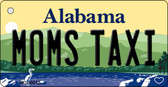 Moms Taxi Alabama Background Key Chain Metal Novelty Wholesale KC-10012
