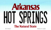 Hot Springs Arkansas State Background Magnet Novelty Wholesale