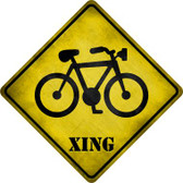 Bicycle Xing Wholesale Novelty Metal Crossing Sign CX-217