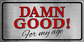 Damn Good Wholesale Metal Novelty License Plate