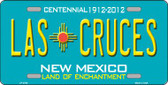 Las Cruces New Mexico Teal Wholesale Novelty Metal License Plate LP-2790