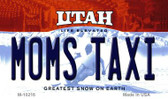 Moms Taxi Utah State License Plate Wholesale Magnet