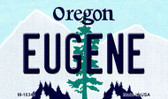 Eugene Oregon State License Plate Wholesale Magnet