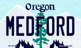 Medford Oregon State License Plate Wholesale Magnet