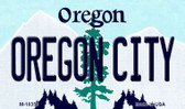 Oregon City Oregon State License Plate Wholesale Magnet