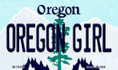 Oregon Girl Oregon State License Plate Wholesale Magnet