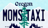 Moms Taxi Oregon State License Plate Wholesale Magnet