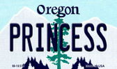 Princess Oregon State License Plate Wholesale Magnet