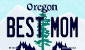 Best Mom Oregon State License Plate Wholesale Magnet