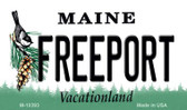 Freeport Maine State License Plate Wholesale Magnet
