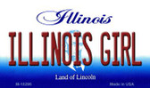 Illinois Girl State License Plate Wholesale Magnet