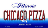 Chicago Pizza Illinois State License Plate Wholesale Magnet