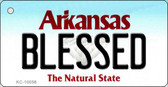 Blessed Arkansas State License Plate Wholesale Key Chain KC-10056
