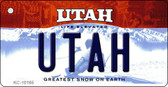Utah State License Plate Wholesale Key Chain