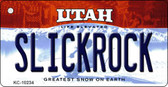 Slickrock Utah State License Plate Wholesale Key Chain