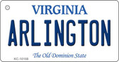 Arlington Virginia State License Plate Wholesale Key Chain