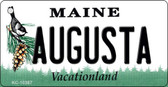 Augusta Maine State License Plate Wholesale Key Chain