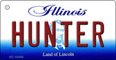 Hunter Illinois State License Plate Wholesale Key Chain