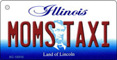 Moms Taxi Illinois State License Plate Wholesale Key Chain