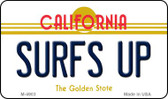 Surfs Up California State License Plate Wholesale Magnet