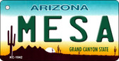 Mesa Arizona State License Plate Wholesale Key Chain
