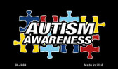 Autism Awareness Puzzle Wholesale Novelty Magnet M-4669