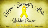 Bladder Cancer Ribbon Wholesale Novelty Magnet M-8301