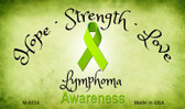 Lymphoma Ribbon Wholesale Novelty Magnet M-8314