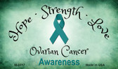 Ovarian Cancer Ribbon Wholesale Novelty Magnet M-8317