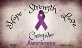 Caregiver Ribbon Wholesale Novelty Magnet M-8325