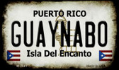 Guaynabo Puerto Rico State License Plate Wholesale Magnet
