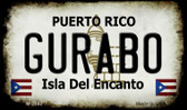 Gurabo Puerto Rico State License Plate Wholesale Magnet
