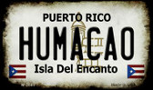 Humacao Puerto Rico State License Plate Wholesale Magnet M-2845