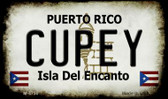 Cupey Puerto Rico State License Plate Wholesale Magnet M-4750